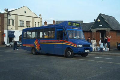 255 - K702UTT - Newport (old bus station) - October 2003