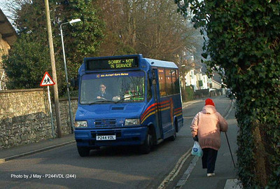 244 - P244VDL - Ryde (Star St) - Autumn 2002