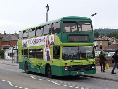 736 - K736ODL - Shanklin (Languard Rd) - 6.8.08