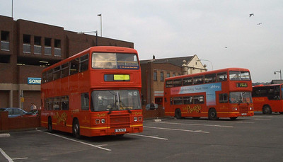 710 and 711 - Newport (bus station) - 16.2.04