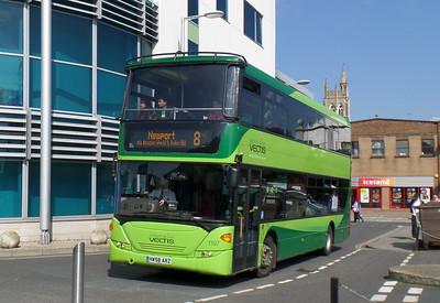 1107 - HW58ARZ - Newport (bus station)
