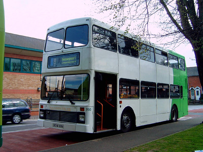 760 - R741XRV - Newport (Church Litten) - 29.4.06