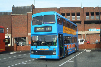 755 - R755GDL - Newport (bus station) - 30.10.03