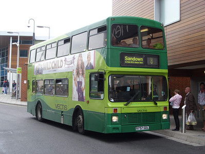 757 - R757GDL - Newport (bus station) - 5.8.08