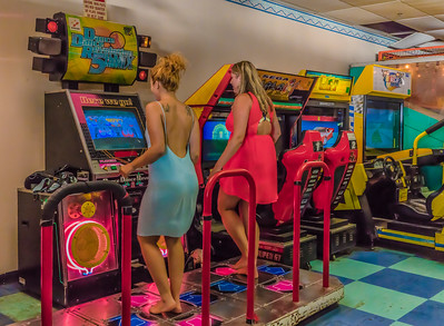 Contest at the arcade