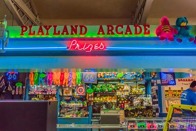 Playland arcade prizes