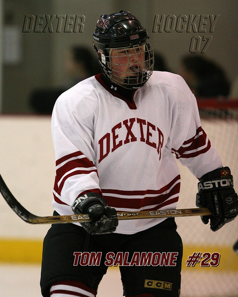 Tom Salamone  #29<br /> Dexter Class of 07<br /> <br /> Can be printed up to a 16x20