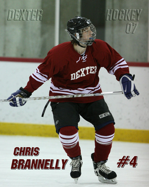 Chris Brannely #4<br /> Dexter Class of 07<br /> <br /> Can be printed up to a 16x20