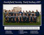 The first Southfield Varsity Field Hockey Team