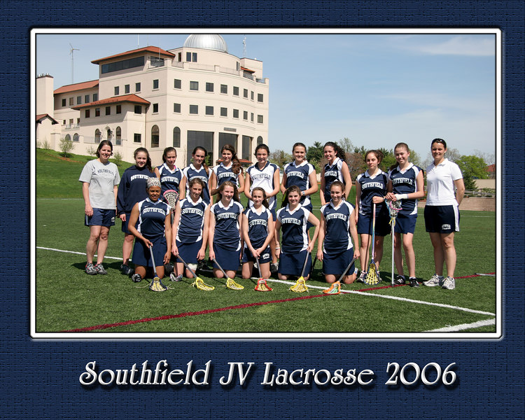 Team Picture designed for an 8 x 10 with custom Border