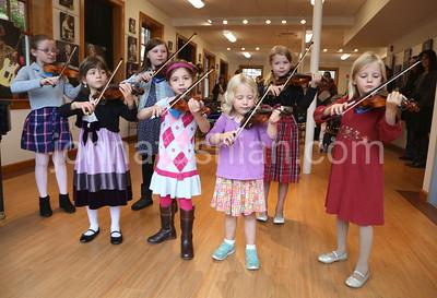 Violin Recital in the new Arts Center