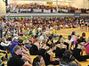 Opening ceremonies at the Carroll High School gym for Southlake's second annual Relay for Life/Rachel's Rally fundraising event for the American Cancer Society last Friday night at Carroll High School.