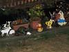 A rather different notion of caravan garden decoration (taken that evening)