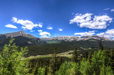 Boreas Pass - South Park Side