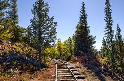 Boreas Pass Narrow Gauge Rail Line