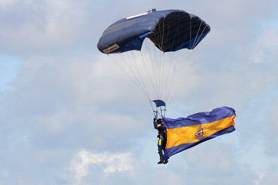 The Tigers Parachute Team