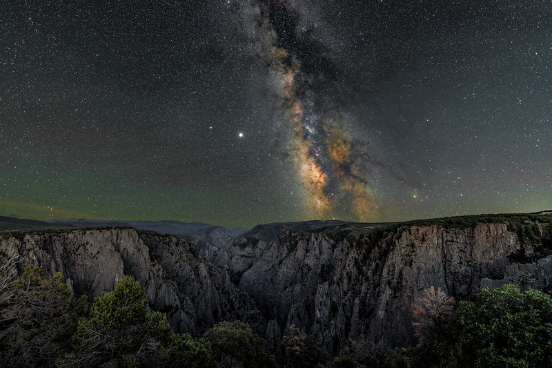 The Black Canyon of The Gunnison