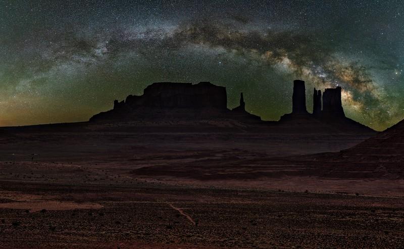 Along The Desert Road