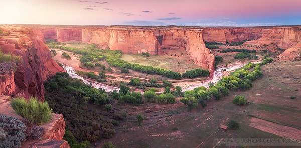 Canyon de Chelly Overlook, Chinle, Arizona
