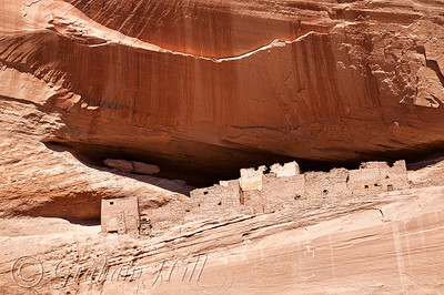 The White House II, Canyon de Chelly National Monument, Chinle, Arizona