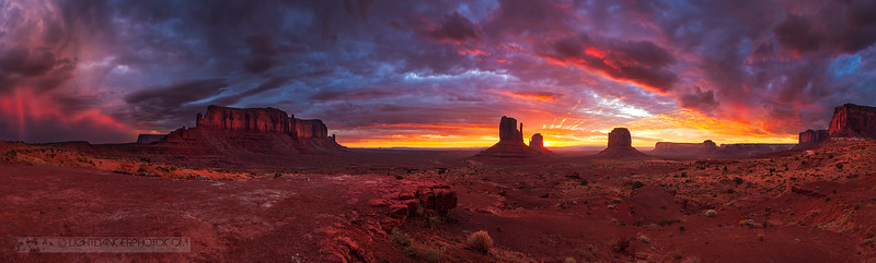 Monument Valley Sunrise Panorama