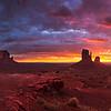 Monument Valley Sunrise Panorama