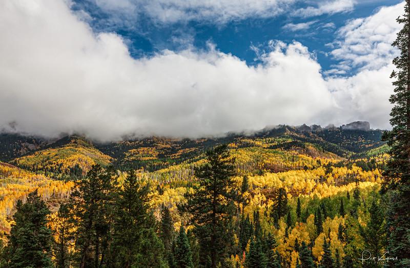 Morning Clouds - Owl Creek Pass