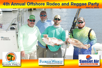 Offshore Rodeo Fishing Tournament 2016
