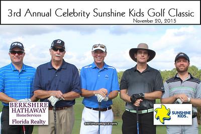 Sunshine Kids Celebrity Golf 2015