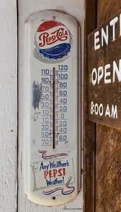Hubbell Trading Post, National Historic Site, Ganado, Arizona - 95F degrees