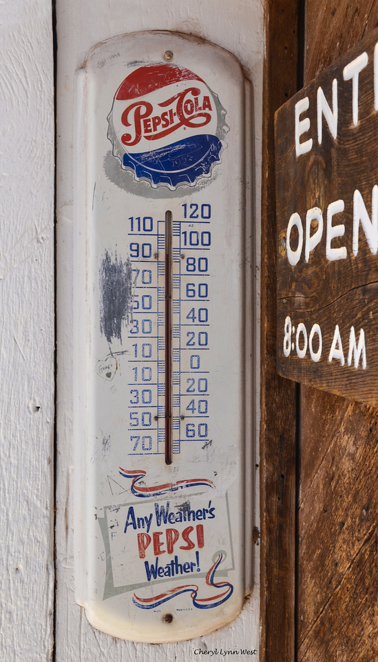 Hubbell Trading Post, National Historic Site, Ganado, Arizona - 95F degrees