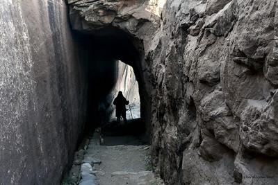 Canyon de Chelly, Arizona - part way down