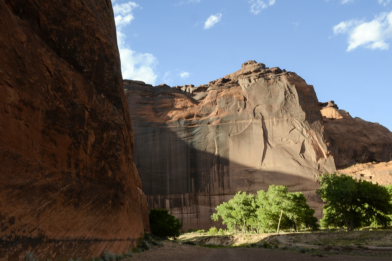 Canyon de Chelly, Arizona - Path to White House Ruins