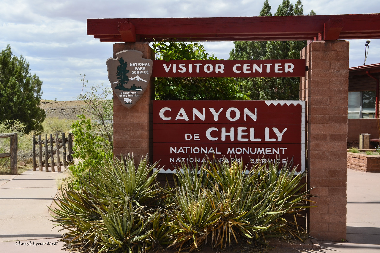 Canyon de Chelly National Monument in Chinle, Arizona - Park Ranger office