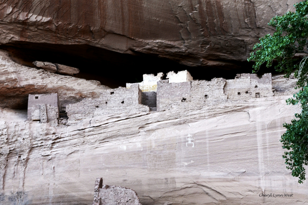 Canyon de Chelly, Arizona - Path to White House Ruin