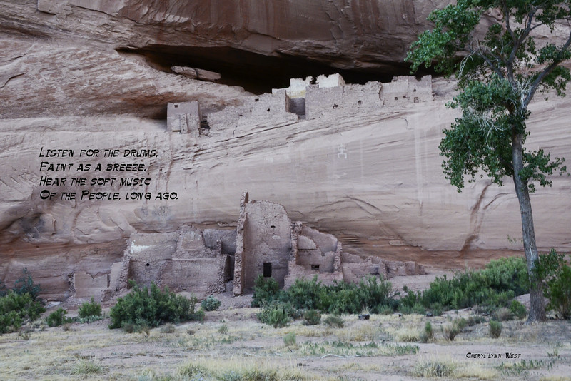 Canyon de Chelly, Arizona - Path to White House Ruin