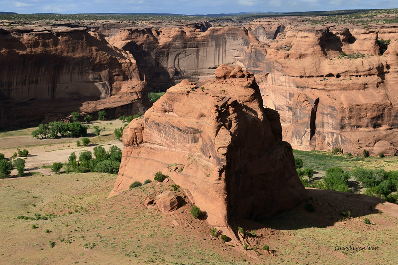 Canyon de Chelly, Arizona - view from the top