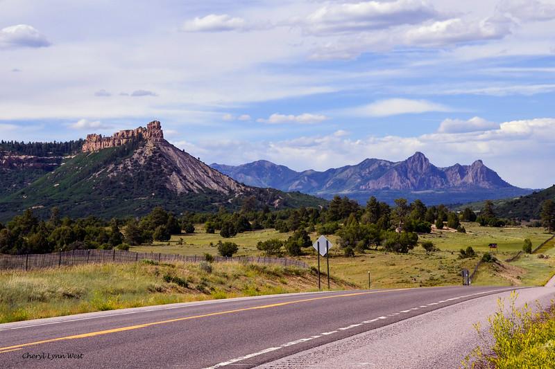 Colorado countryside, near the border of New Mexico