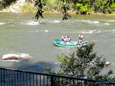 Durango, Colorado - Rafting down the Animas River