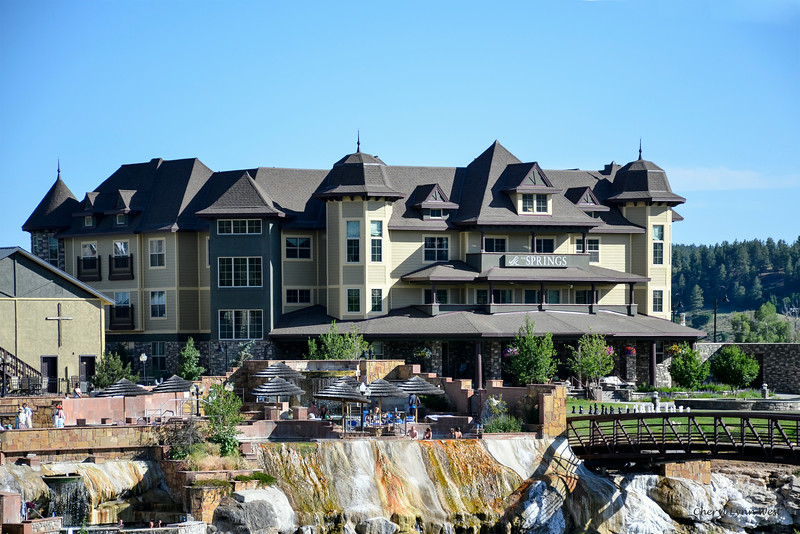 Pagosa Hot Springs, Colorado - Definitely a smell of sulfur in the air