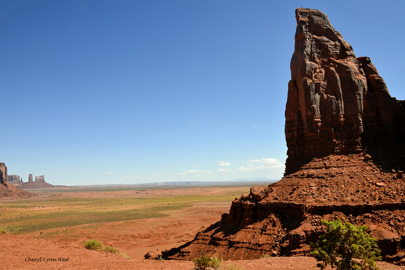 Artist Point Overlook, Monument Valley, Arizona