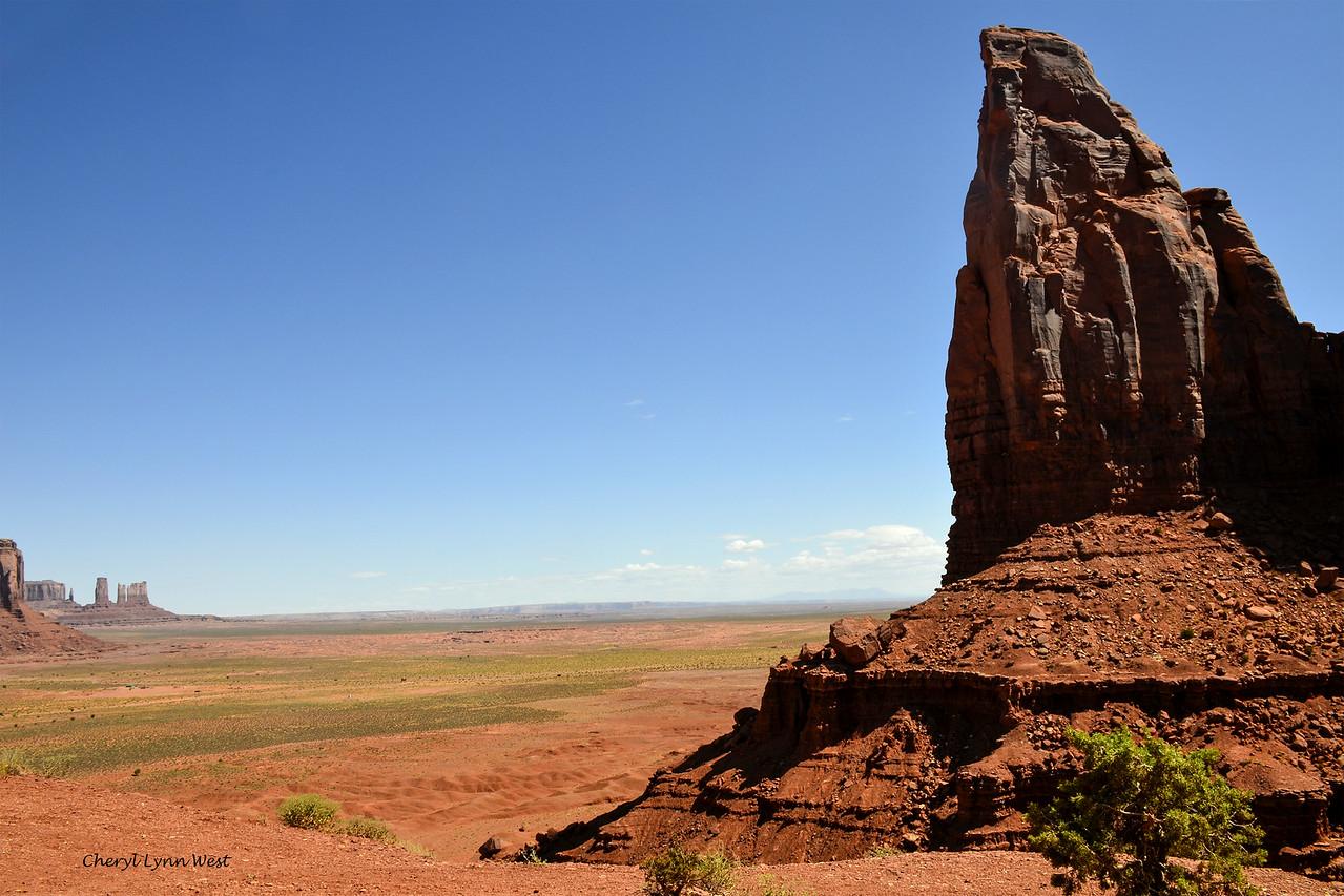 Artist Point Overlook, Monument Valley, Arizona