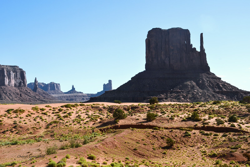West Mitten, Monument Valley, Arizona