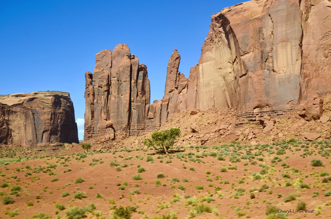 Rain God Mesa, Monument Valley, Arizona