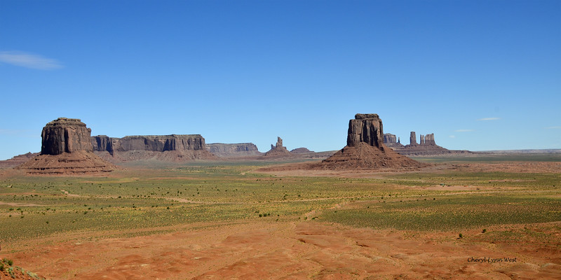 View from Artist Point, Monument Valley, Arizona