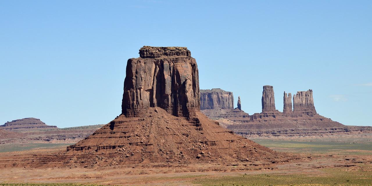 Merrick Butte, Monument Valley, Arizona