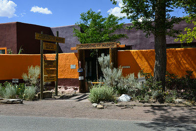 Madrid, New Mexico - One of the many artists' galleries