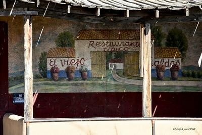 Cerrillos, New Mexico - Mural on Mary's Bar