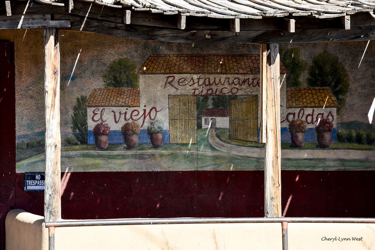 Cerrillos, New Mexico - Mural on Mary's Bar
