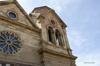 Santa Fe, New Mexico - the Cathedral Basilica of St. Francis of Assisi